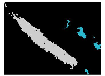 Travel To New Caledonia Nouméa - New caledonia map