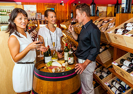 Incentive with french wine in Noumea