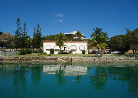 Penal colony in Nou island in Noumea, New Caledonia