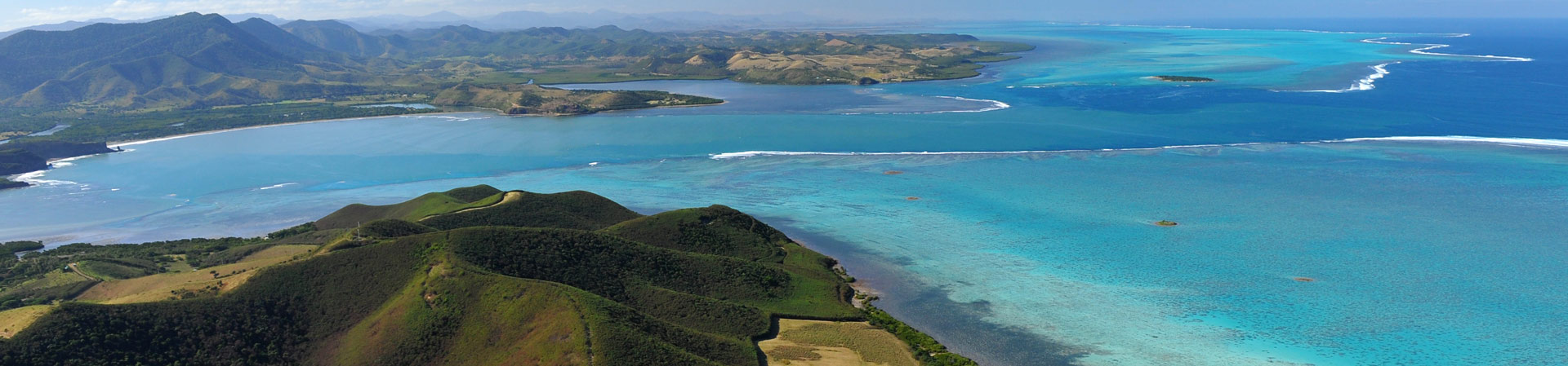 Bourail bay in New Caledonia
