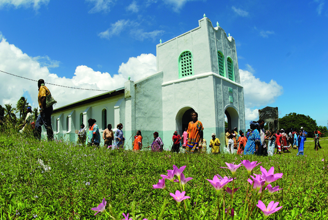 Lifou Church in the Loyalty Islands