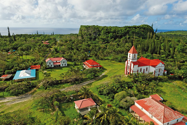 Maré Church in the Loyalty Islands