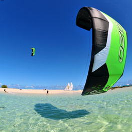 Kitesurf in New Caledonia