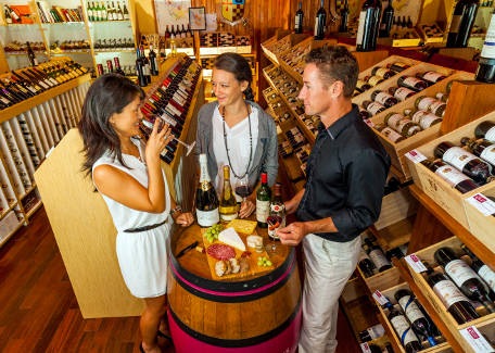 Pavillon des Vins shopping made in France New Caledonia