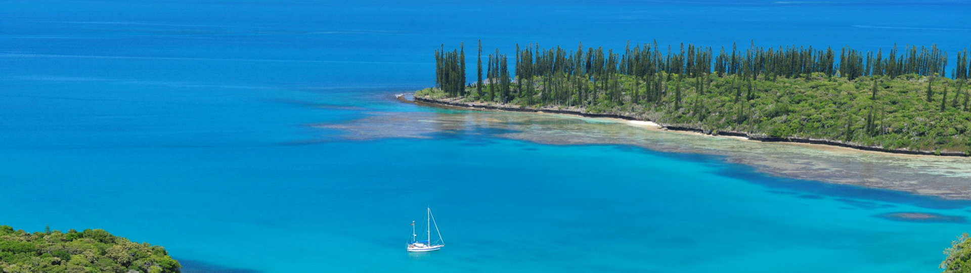 Kuto and Kanumera Bay Isle of Pines New Caledonia