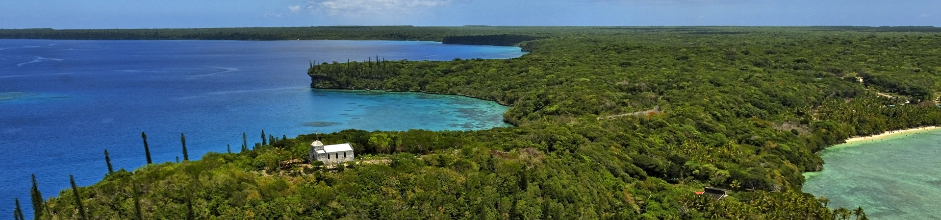 Lifou in new caledonia
