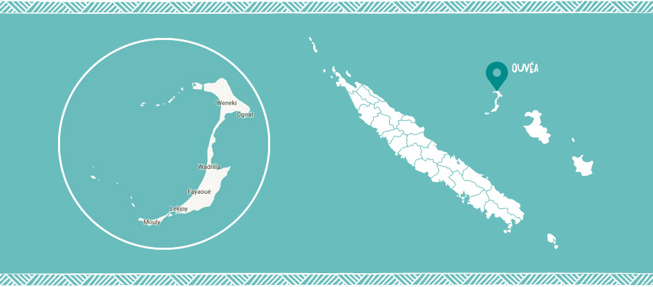 Ouvéa Loyalty islands in New Caledonia