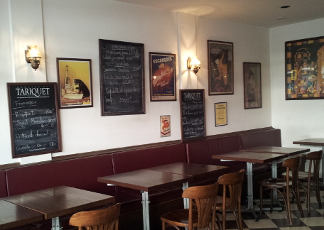 Chez Toto: dining in a Parisian atmosphere