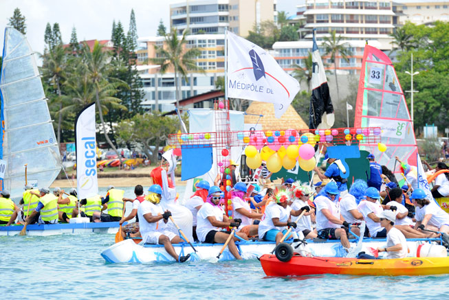 The 'Touques' regatta in Nouméa