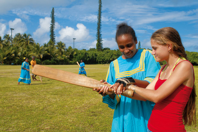 Cricket in New Caledonia