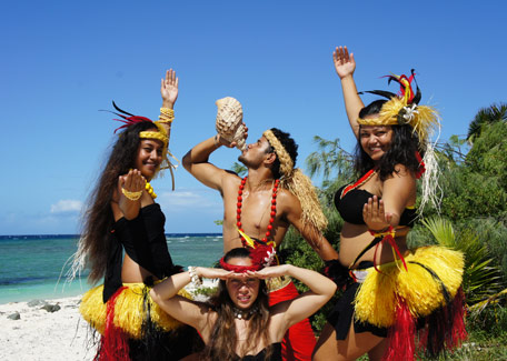 Polynesian show in New Caledonia
