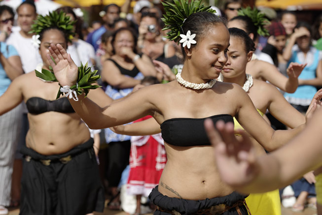Tahitian dance in New Caledonia