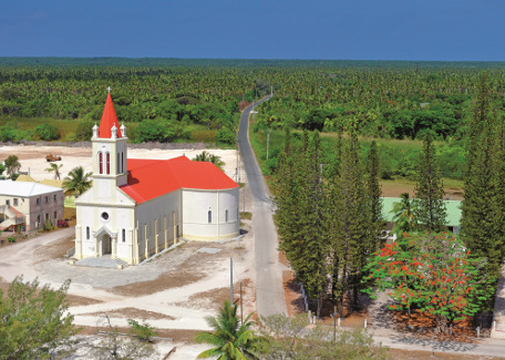 Church of the Loyalty Islands ouvéa Caledonian built heritage
