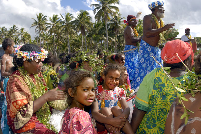 The Avocado Festival in Maré the Loyalty Islands