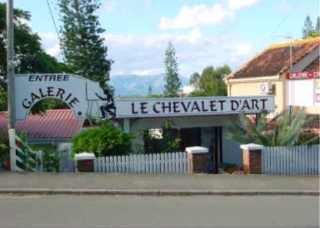 Artistic wealth at Le Chevalet d'Art