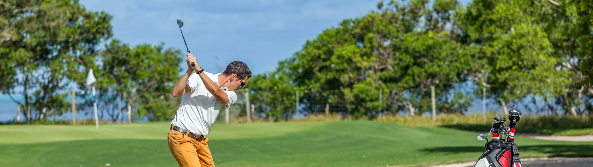 Deva golf course in Bourail New Caledonia