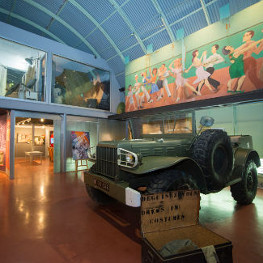 World War II in museum