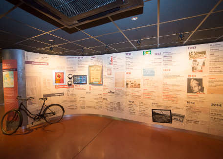 The museum's permanent exhibition: a wealth of information