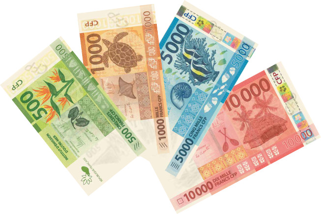 Francs XPF in New Caledonia