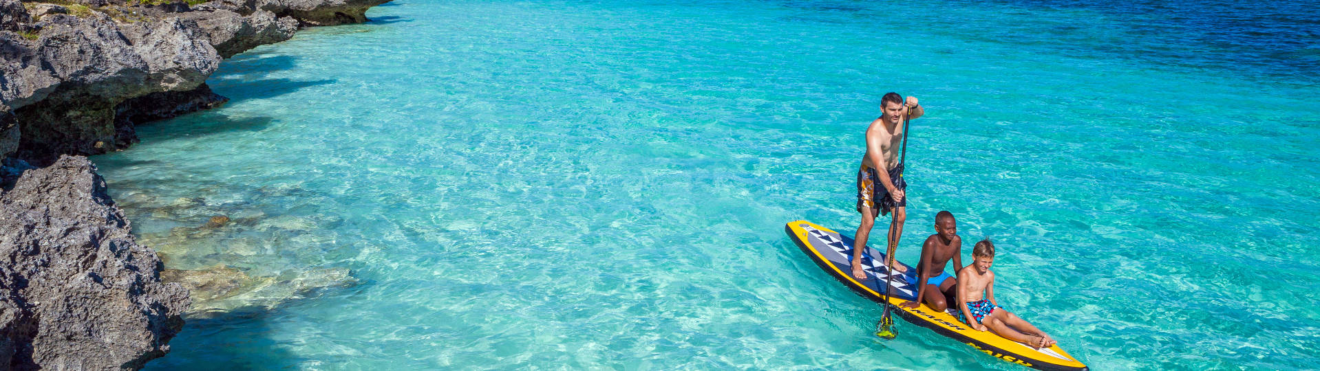 Stand up paddle Lifou New Caledonia