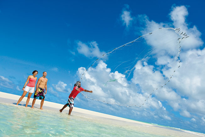 Fishing in Ouvéa the Loyalty Islands