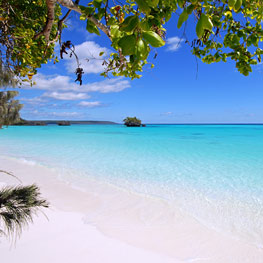 Luengoni beach in Lifou, the Loyalty Islands