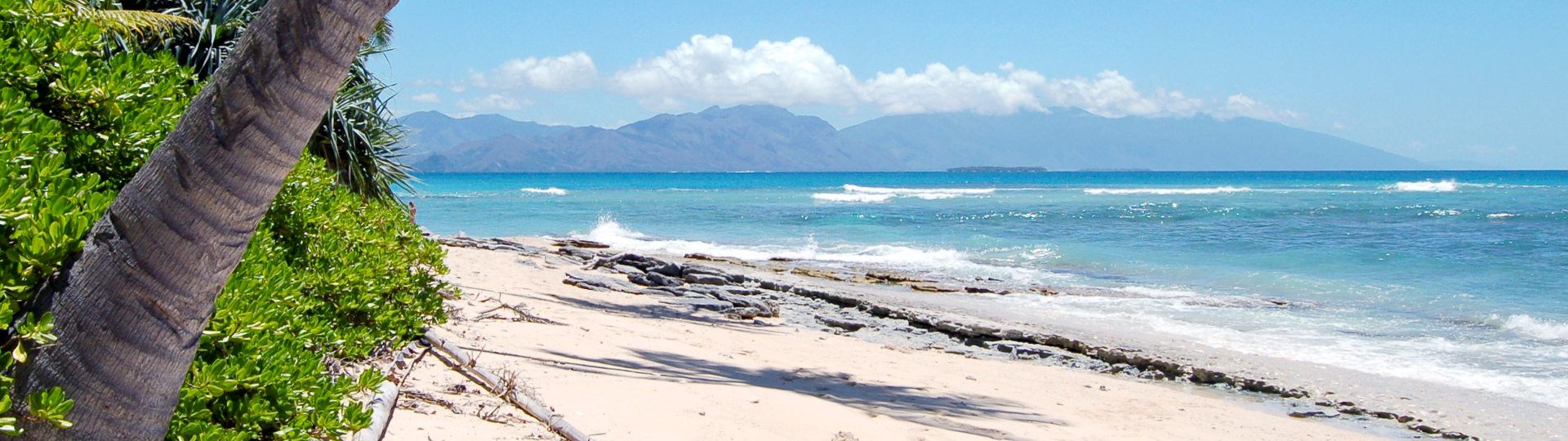 Poindimié beach in New Caledonia