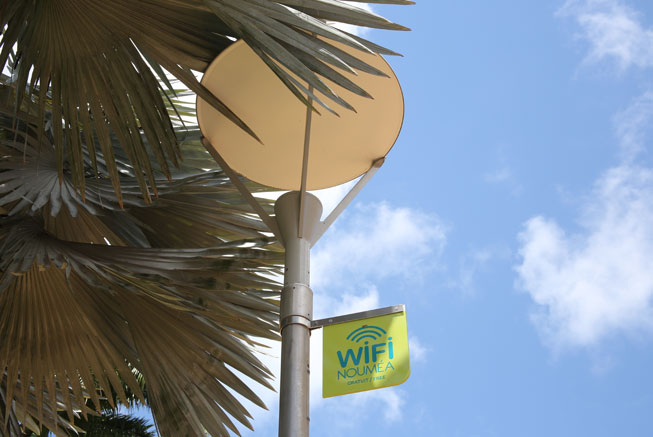 WIFI in Nouméa center