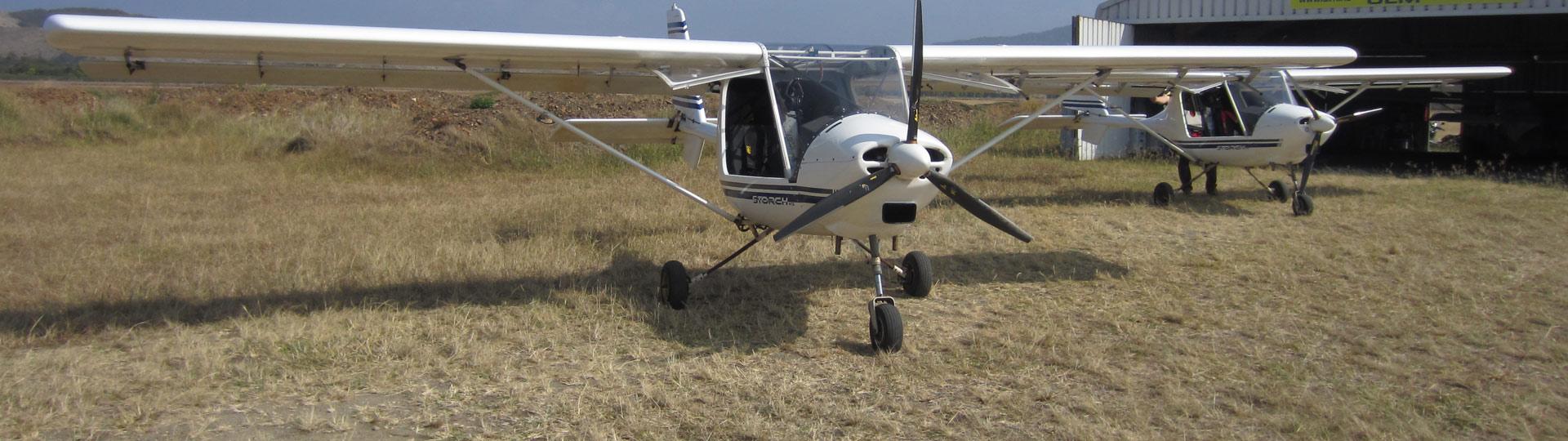 New Caledonia - Ultralight flights