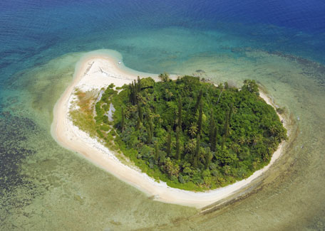 Tibarama Islet in Poindimié
