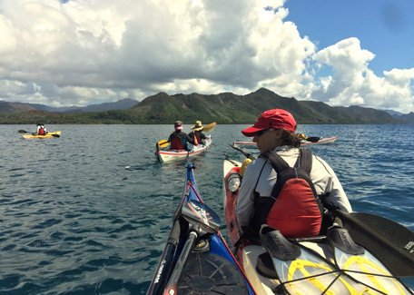 Kayak in New Caledonia