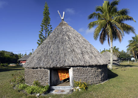 Traditional hut New Caledonia