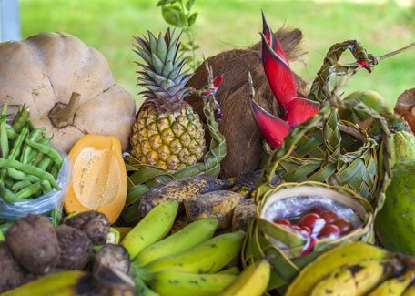 Tropical fruits in New Caledonia