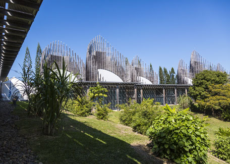 The Tjibaou Cultural Centre in New Caledonia