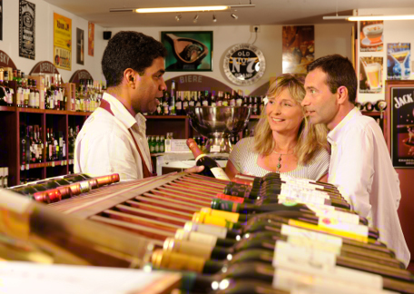 Wine merchants for gourmets