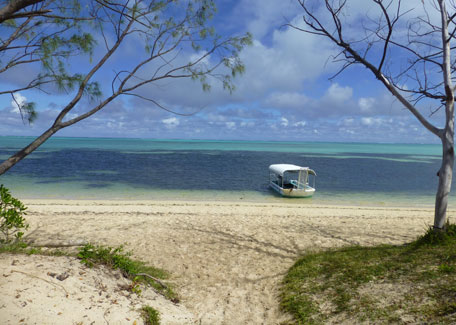 Poé Beach in Bourail, New Caledonia