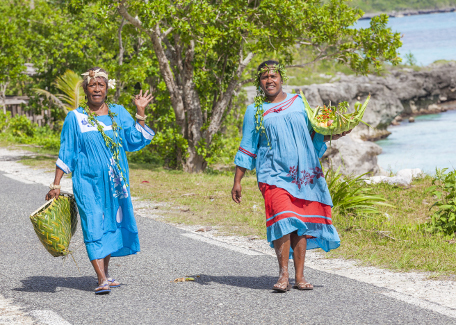 women in Lifou