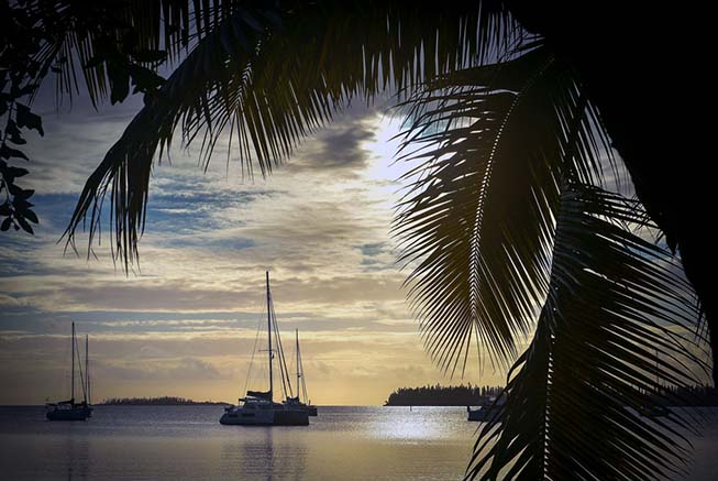 Catamaran in the Isle of Pines, New Caledonia