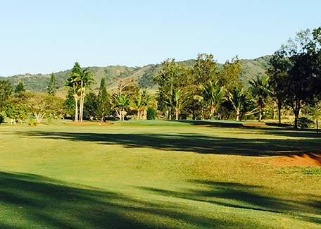 Golf Ouenghi in Boulouparis, New Caledonia