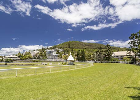 The Henri Milliard racecourse in Noumea