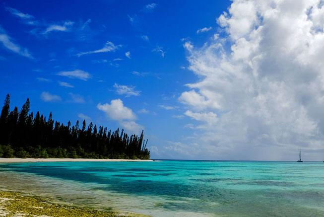 Bay in the Isle of Pines, New Caledonia