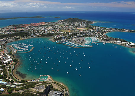 Noumea bays in New Caledonia