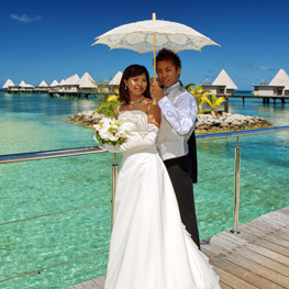 Wedding Escapade island in Noumea