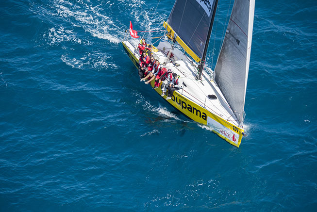Groupama Race in Nouméa