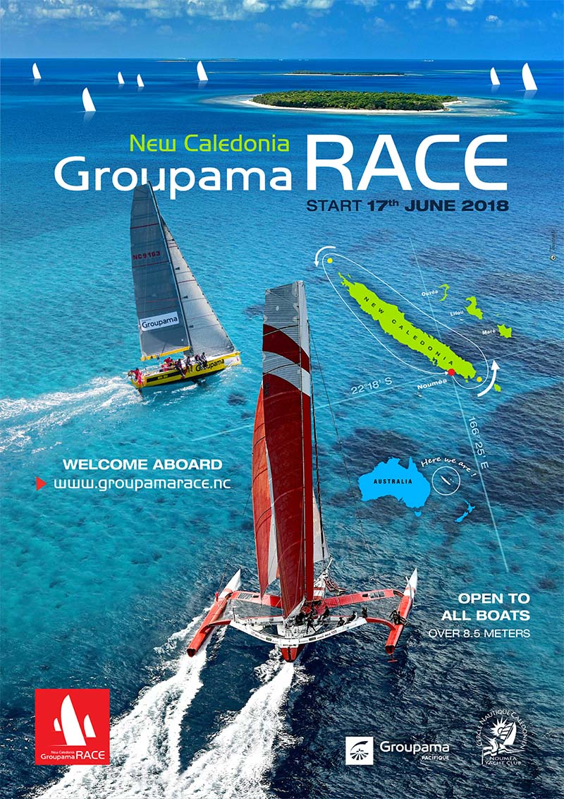 Groupama Race in Noumea