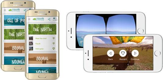 New Caledonia - New Caledonia in virtual reality