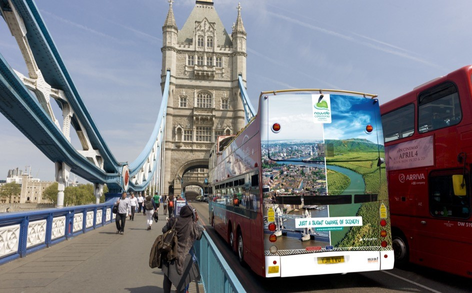 Campagne bus Londres