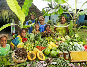Food festival in New Caledonia