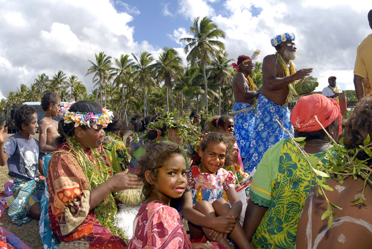 Local festival in New Caledonia