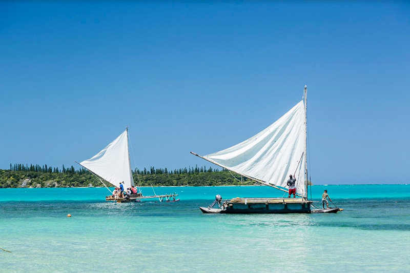Outrigger, Isle of Pines, New Caledonia